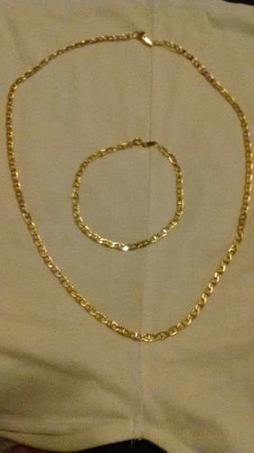 Juego Cartier De Hombre Oro 14kgp