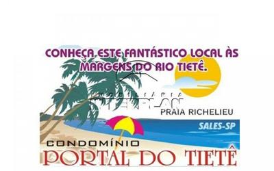 La90018 ,rancho, Terreno Residencial,condominio ,sales - Sp, Bairro: Cond. Portal Do Tiete