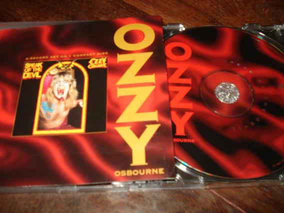 Ozzy Osbourne - Speak Of The Devil Cd Import Orig Vg+/vg