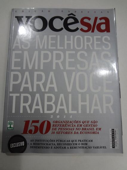 Revista Edição Especial Você S/a Outubro De 2014