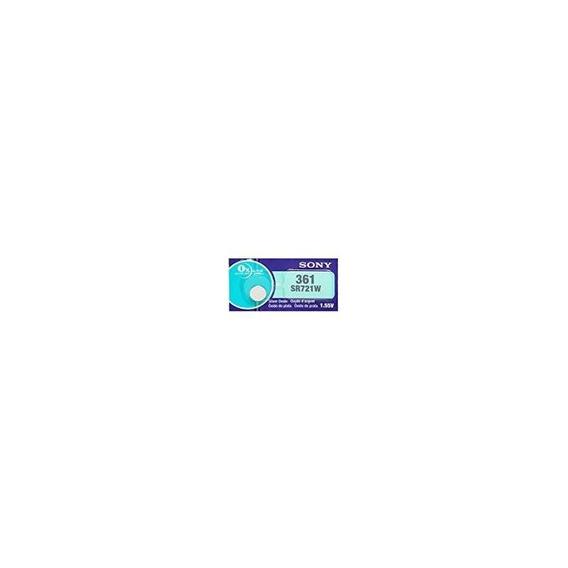 Sony 361 (sr721w) 1.55v Oxido De Plata 0% Hg Mercurio Baterí