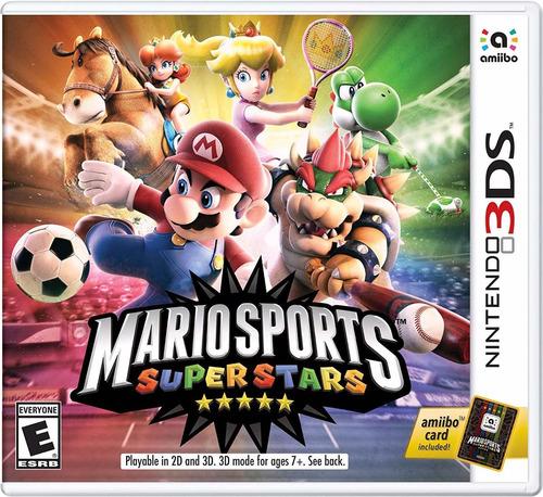 Imagen 1 de 6 de Mario Sports Super Stars Standard Edition Nintendo 3ds