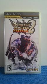 Jogo Psp Monster Hunter Freedom 2 Usado