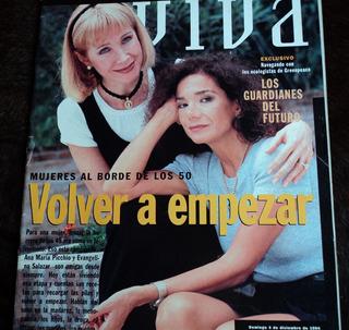 Revista Viva Ana Maria Picchio Evangelina Salazar Cerati 94
