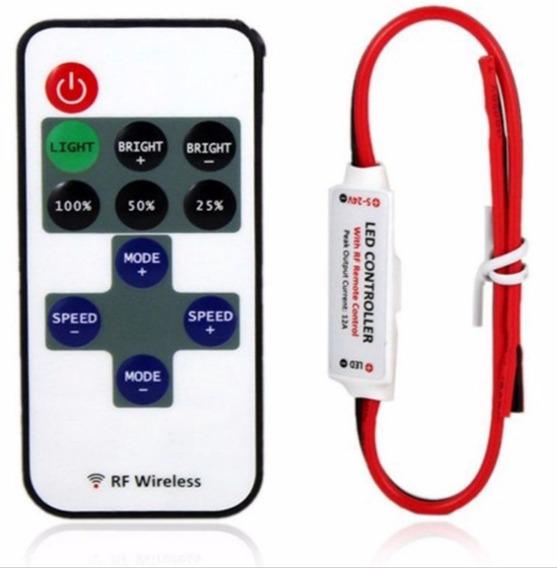 Controle Remoto Dimmer Wi-fi Led 3w 10w Fita Varias Funções