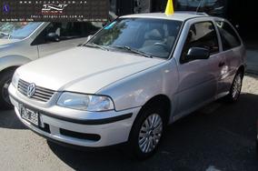Volkswagen Gol 3 Ptas C/ Gnc Aa Dh (60 + Cuotas)