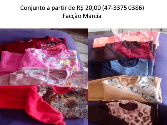 Conjunto Infantil A Partir De R$ 20,00