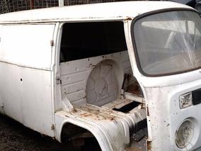 Vw Volkswagen Perua Kombi Furgão Sucata 1993 Branca -carcaça