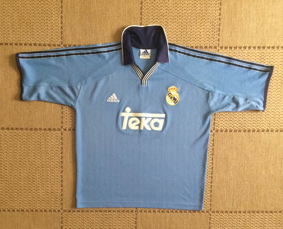 Camisa Original Real Madrid 1999/2000 Third