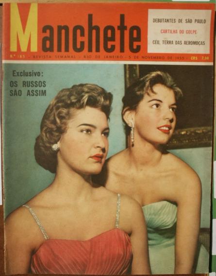 Manchete 1955 - Debutantes São Paulo*