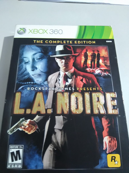 La Noire The Complete Edition Xbox 360 Impecável!