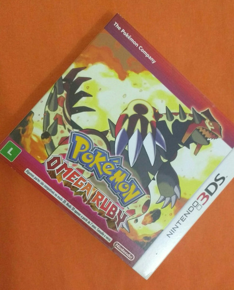 Pokémon Omega Ruby (nintendo 3ds) - Original