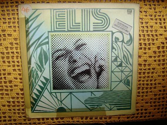 Elis Regina / Disco Postumo - Lp De Vinilo Promo