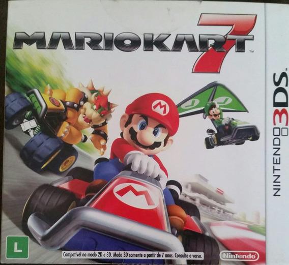 Mario Kart 7 3ds Com Luva. Usado