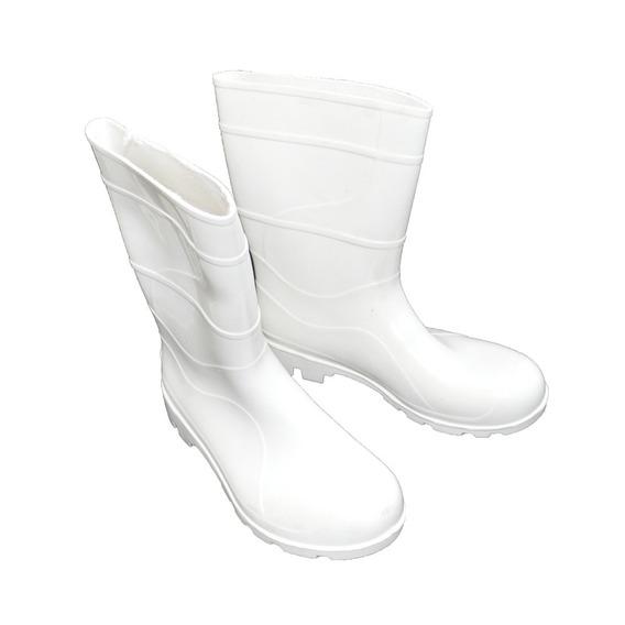 Bota Pvc Branca Com Forro Cano 30m - Proteplus / Tamanho: 42