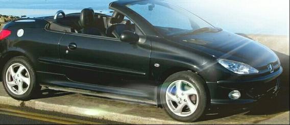 Peugeot 206 Cabriolet 2006 1.6cc Pta Solo Por Casa O Local