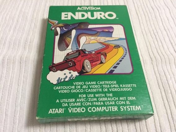 Enduro (activision) Com Manual E Caixa Originais - Raridade