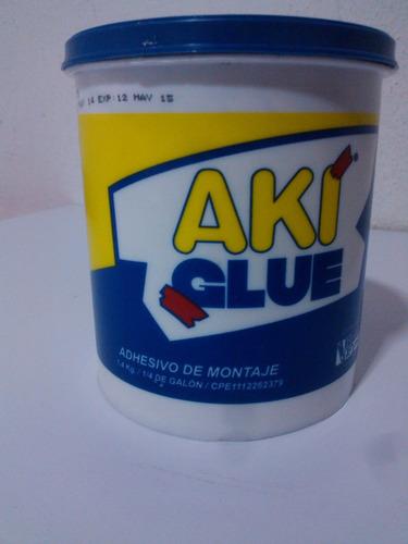 Adesivo/pegamento Aki Glue-no Mas Clavo 1/4 Galon