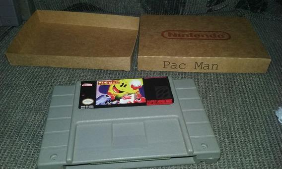 Pac Man Super Nintendo Caixa Personalizada