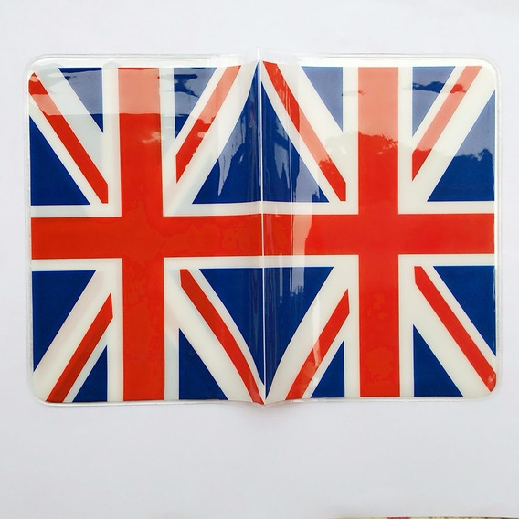 Capa Passaporte Inglaterra Bandeira Reuno Unido Grãbretanha@