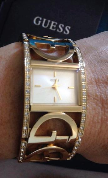 Relogio Bracelete Guess Dourado - Feminino