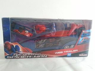 Carros De Spiderman Web Trailer