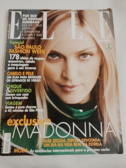 Revista Elle Especial Madonna! Raridade De Fã Colecionador