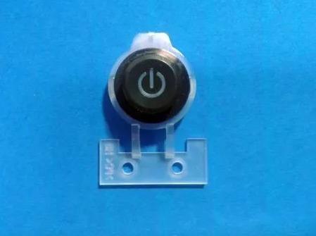 Capa Do Botão Power Da Impressora Hp Officejet Pro 8600