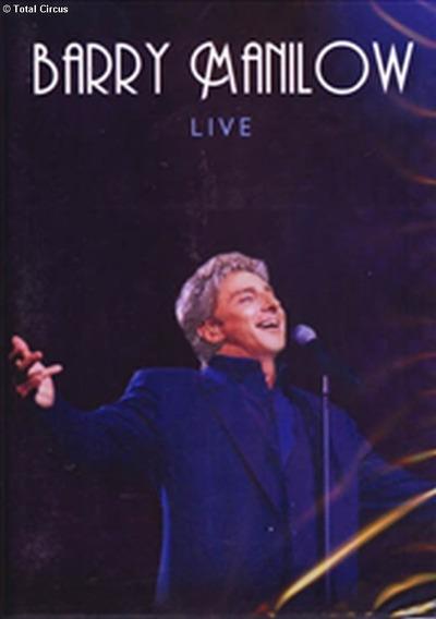 Barry Manilow - Live Dvd - Sb