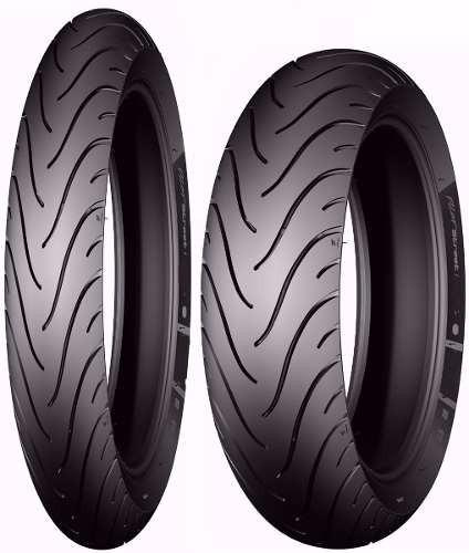 Par Pneu Crypton 60/100-17 + 80/90-17 Michelin Pilot Street