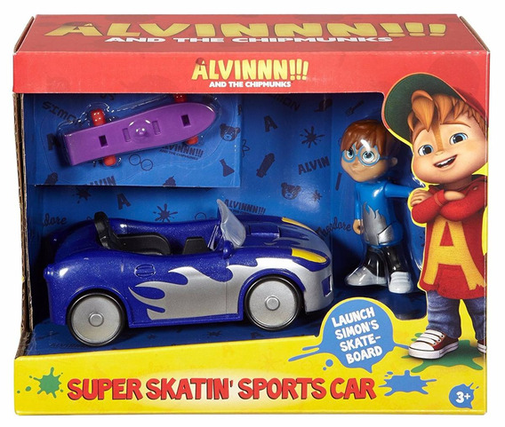 Alvin E Os Esquilos - Super Carro Do Simon - Fisher Price