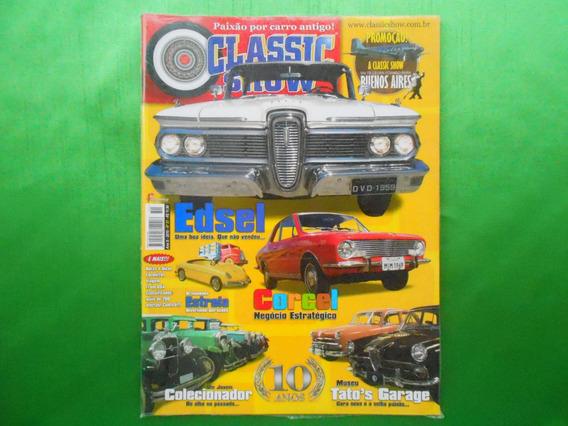 Revista Classic Show Nº 51 Ano X- 2010- Lacrada