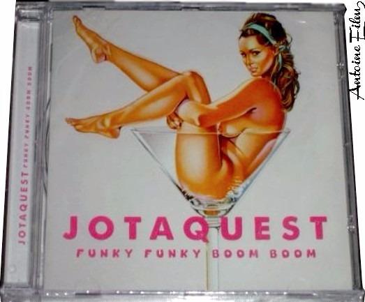 Jota Quest Funky Funky Boom Boom Cd Original Novo Lacrado