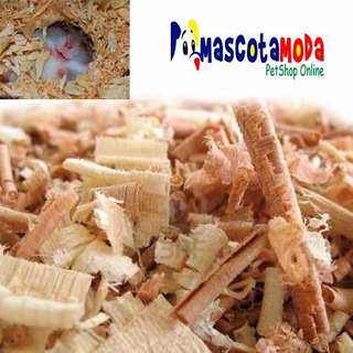 Viruta Para Hamster Y Roedores Sustrato Jaula Funda 1 Kilo