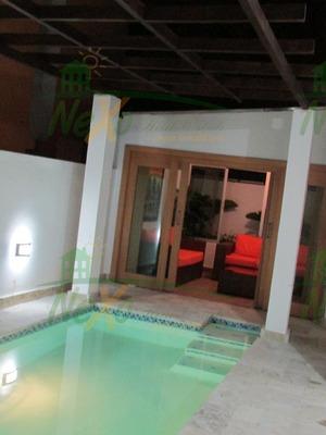 Acogedora Y Moderna Casa C/piscina Cerro Hermoso Eac-149