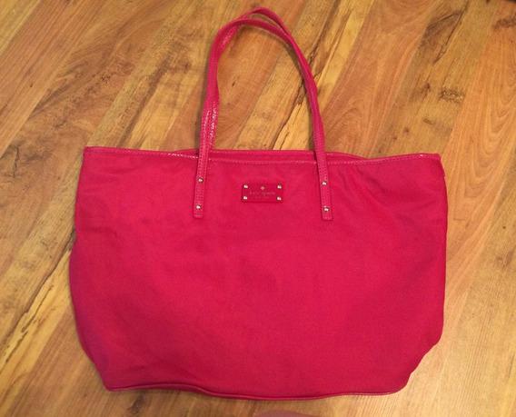 Bolsa Kate Spade Pink Shopping Bag Rosa Grande Xl Original!!