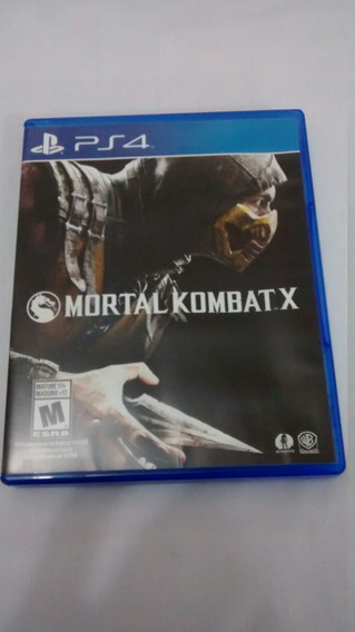 Mortal Kombat X (americano, Completo) Playstation 4 Ps4