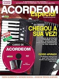 Método Acordeom Primeira Edição Dvd + Revista