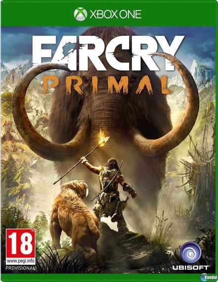 Jogo Novo Lacrado Farcry Primal Original Para Xbox One