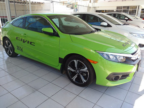 Honda Civic Coupe Verde 2016 Aut 4 Cil