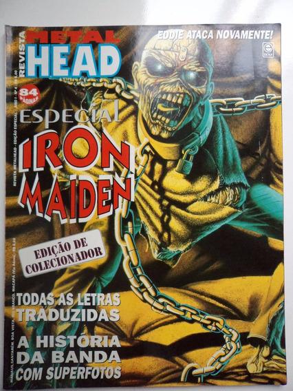 Revista Metal Head Especial - Iron Maiden