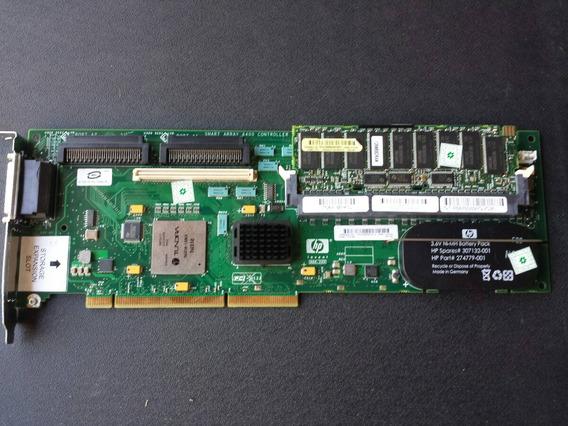 Placa Controladora Smart Array 6402 Com Bateria/n 309520-001