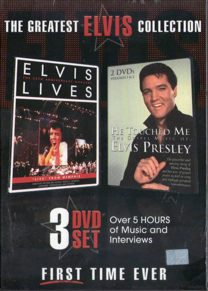 Elvis Presley The Greatest Collection 3 Dvd - Los Chiquibum