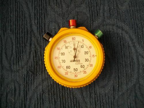 Imagen 1 de 2 de Cronometro Herwins Super Haltrick Hecho En Suiza