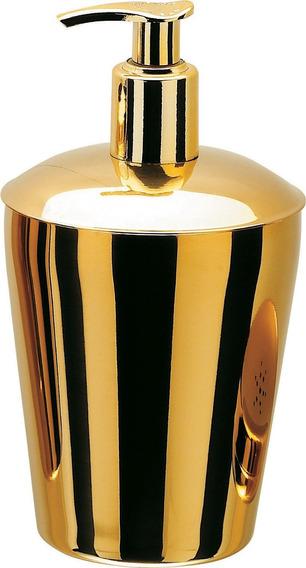 Porta Sabonete Liquido Hara Spa Golden ( Aço Inox Dourado )