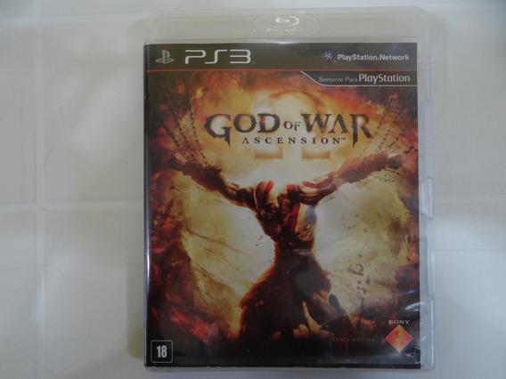 God Of War Ascension - Ps3 - Completo!