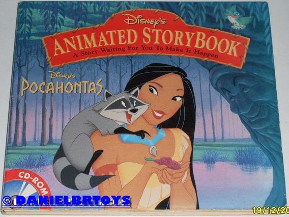 Disney Pocahontas E Ursinho Pooh Lote Com 2 Cd-roms Jogos Pc