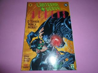 Hq Lanterna Verde Versus Aliens Encadernado Editora Abril