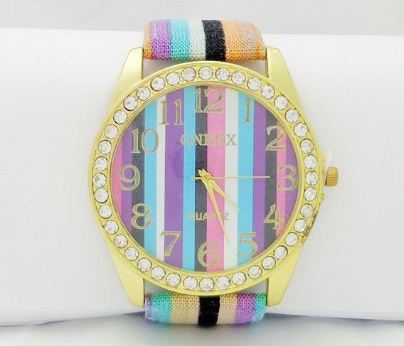 Relógio Feminino Estiloso E Fino.