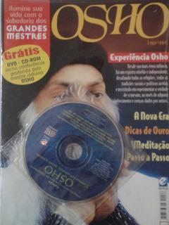 Osho - Ilumine Sua Vida Grandes Mestres ( Revista E Dvd )